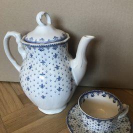 Juego de café porcelana La Cartuja de Sevilla