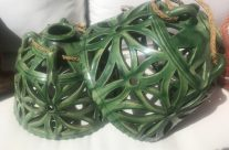 Lámparas de techo en cerámica Tito de Ubeda